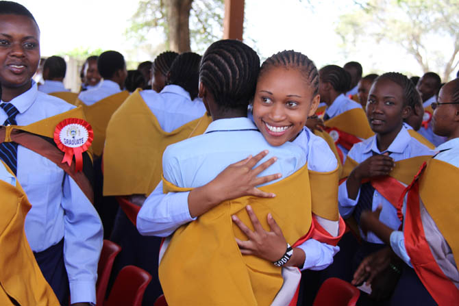 The School of St Jude's Form 4 Students Shine at their Graduation