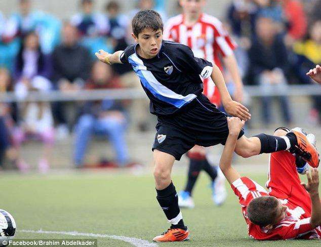 Manchester City complete swoop for 14-year-old Brahim Abdelkader Diaz, dubbed the 'new Lionel Messi'