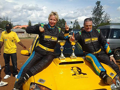 Giancarlo retains Rwanda's National Rally Championship