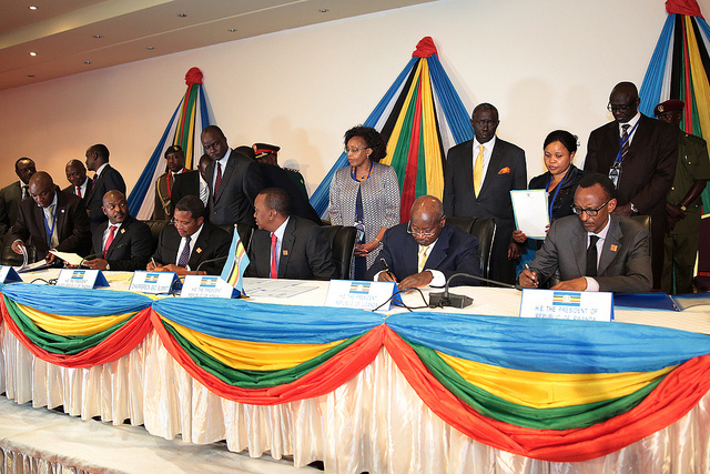 East African Community Monetary Union signed