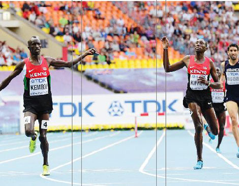 The fight is over: Kenyan athletes from World Championships return tonight