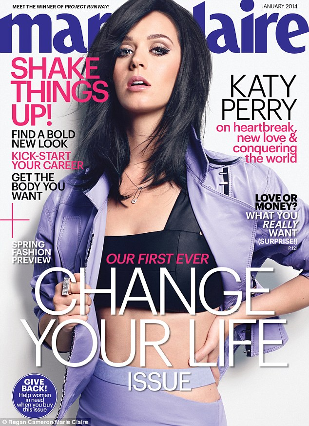 Katy Perry opens up on Russell Brand and new love John Mayer on Marie Claire