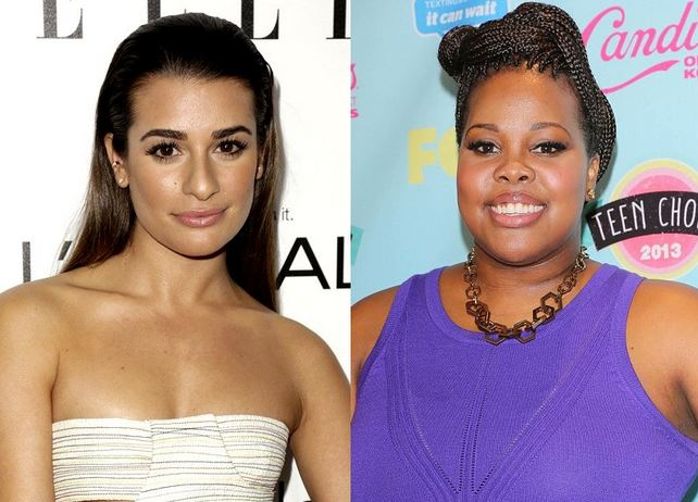 Lea Michele Thanks Amber Riley for Helping Her Cope With Cory Monteith's Death