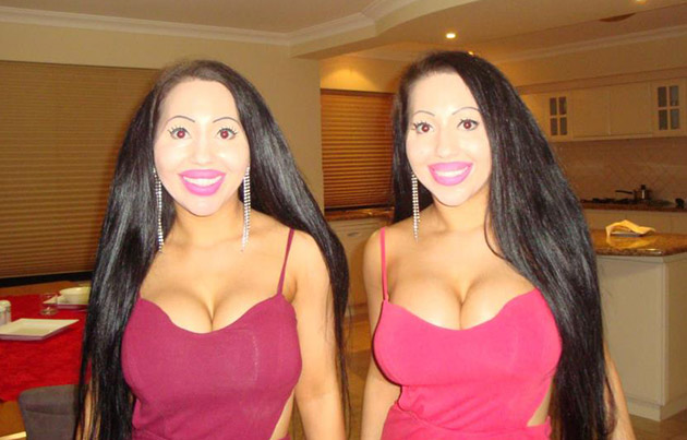 Twin sisters Lucy and Anna DeCinque pay $200k to make them look more similar (and they even share the same BOYFRIEND)