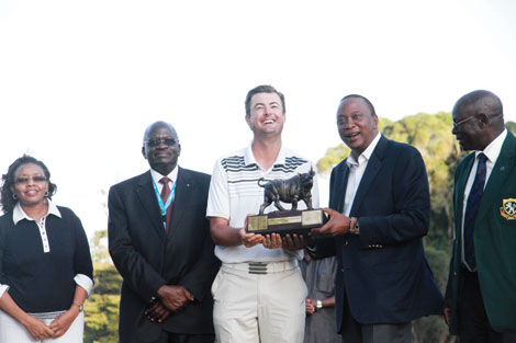 South African Jake Roos crowned Kenya Open champion as tourney ends