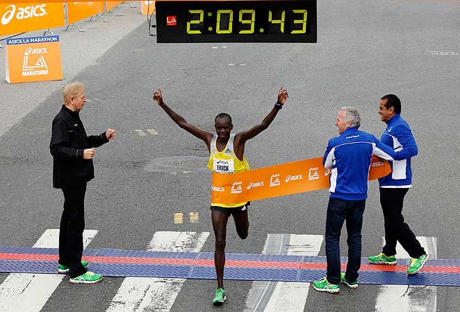 Erick Mose set to tackle the Los Angeles Marathon today