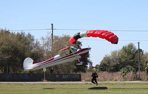 Skydiver, pilot collide in mid-air accident in Florida