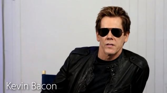 Kevin Bacon Spreads the '80s Awareness in Funny Video
