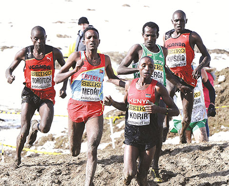 Kiplagat seeks Safaricom's help to bring athletics event to Kenya