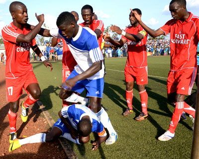 Rayon Sports slump to shock Espoir defeat
