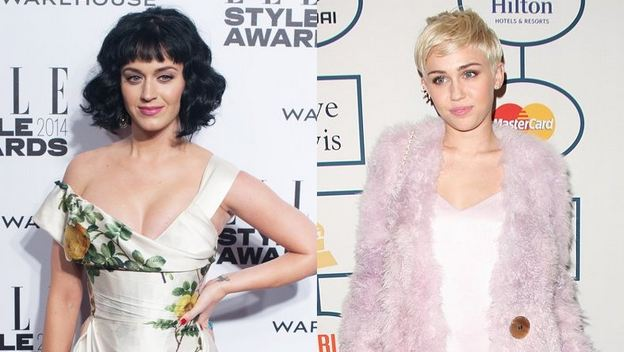 Katy Perry Reacts to Miley Cyrus' Diss on Twitter