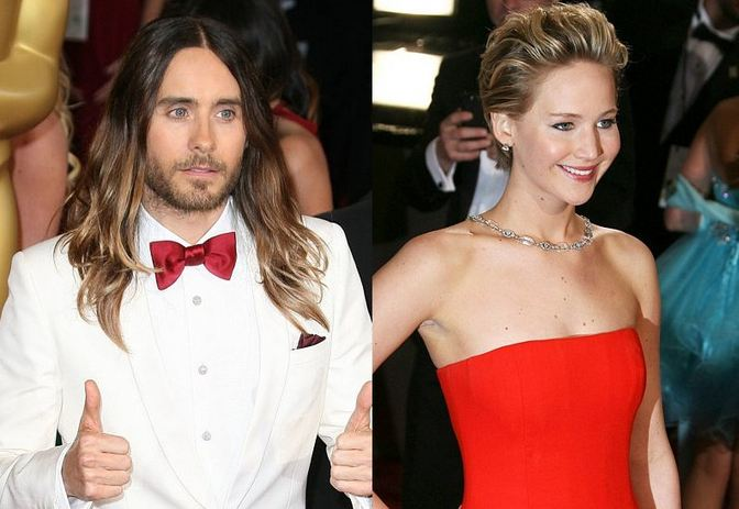 Jared Leto Dissed Jennifer Lawrence for Falling Twice at the Oscars