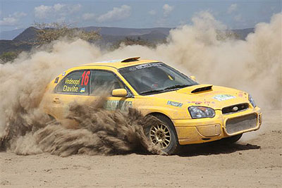 New routes for Zambia international rally
