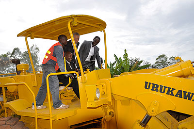 Kabuga-Masaka road works start