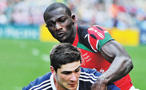 Kenya drawn in tough pool in Scotland Sevens series