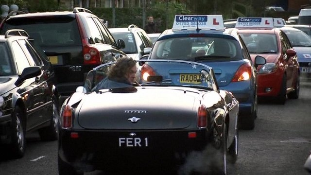 Top Gear admits staging a traffic jam scene