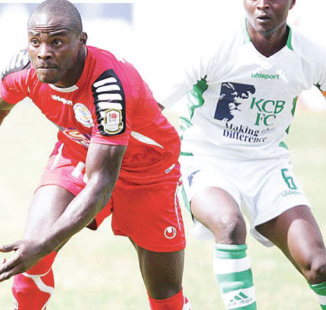 KCB gun down Ulinzi to reach KPL Top 8 last four at the Kenyatta Stadium