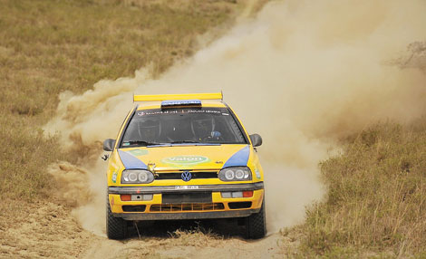 Thethy eyes Formula Two honours in Kiambu Rally
