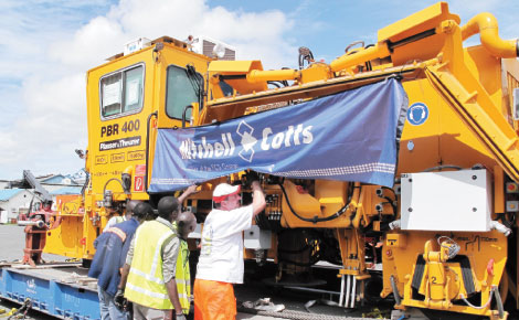 RVR gets automated railway maintenance machines
