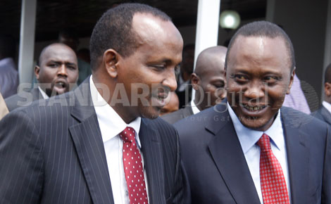 Uhuru meets MPs from North Eastern over security swoop