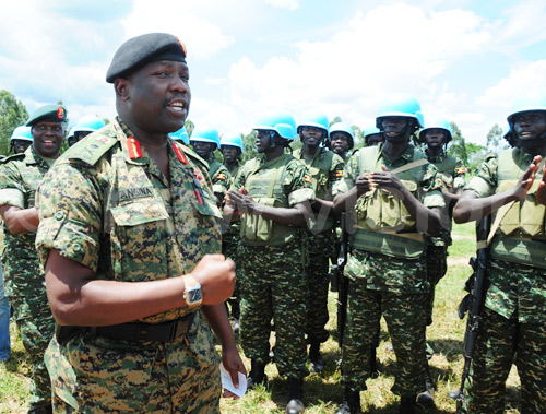 Uganda deploys new force in Somalia
