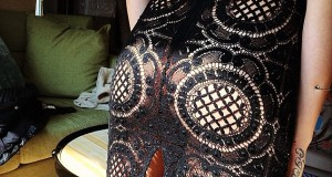 Cara Delevingne shares Instagram picture of derriere in sheer Burberry skirt