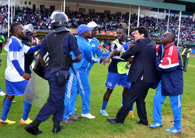 Chaos as Rayon Sports stumble in league race