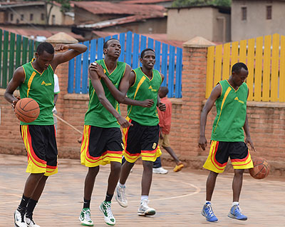 Debutants IPRC Kigali eye playoffs in hoops league