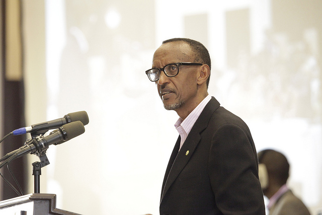 Kagame awarded for promoting peace, justice