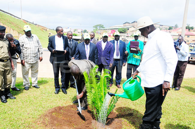 Museveni mourns the Environment