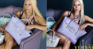 Lady Gaga leaked photos show her before photoshop in new Versace shoot