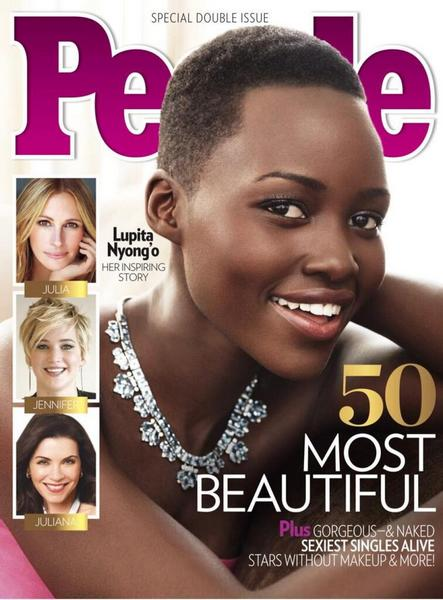 Lupita Nyong'o Named People Magazine's 'Most Beautiful' Woman
