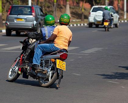 Police warns motorcycle taxi operators against over loading