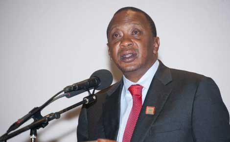 Uhuru wants his name struck off Barasa's petition