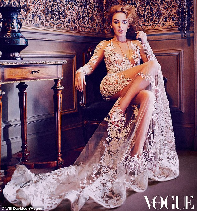 Kylie Minogue stuns in Vogue Australia latest issue