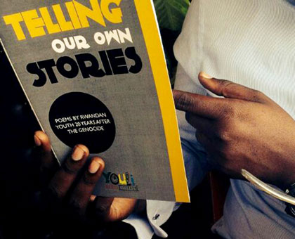 Rwandan youth tell country's 20 year story through poetry