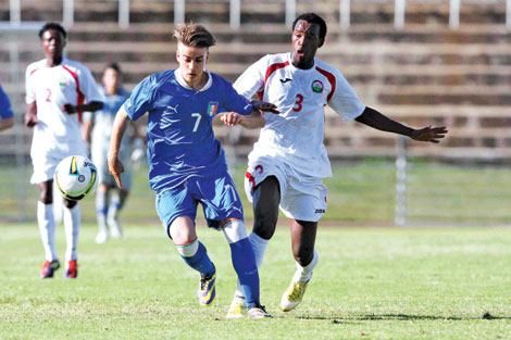 Kenyans held 3-3 by Italy: Hosts come from 2-0 down to draw in Nyayo Stadium duel