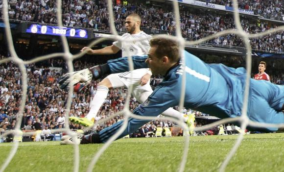Benzema strike gives Real Madrid edge over holders Bayern Munich