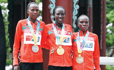 The Kenyan struggle to reach pinnacle of world athletics